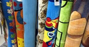 Разноцветные детские ковры