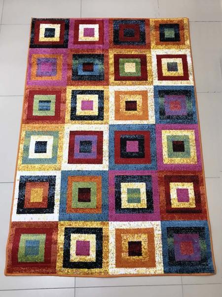 Детский ковер Цветные квадраты